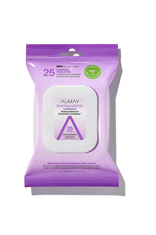 ALMAY - Biodegradable Longwear Makeup Remover Cleansing Towelettes