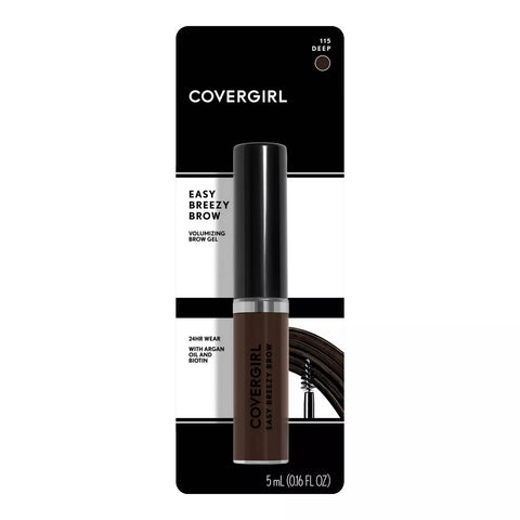 COVERGIRL - Easy Breezy Volumizing Brow Gel Deep 115