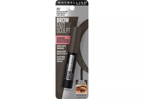 MAYBELLINE - Brow Fast Sculpt Eyebrow Gel Mascara Medium Brown 257