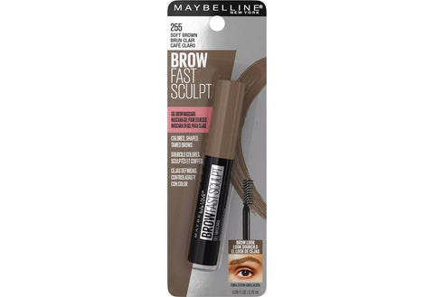 MAYBELLINE - Brow Fast Sculpt Eyebrow Gel Mascara Soft Brown 255