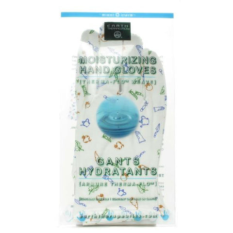 EARTH THERAPEUTICS - Moisturizing Hand Gloves with Garden Prints
