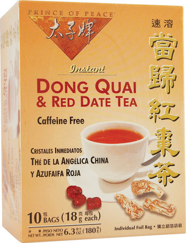 Prince Of Peace Dong Quai and Red Date Tea