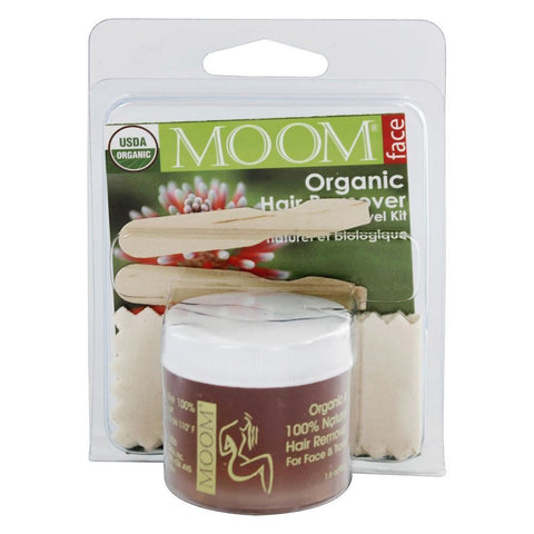 MOOM - Organic Hair Removal Face/Travel Kit