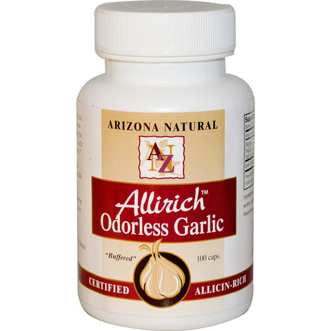 ARIZONA NATURAL - Allirich Odorless Garlic