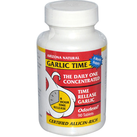 ARIZONA NATURAL - Garlic Time TR Odorless Garlic