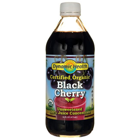 DYNAMIC HEALTH - Black Cherry 100% Juice Concentrate, Unsweetened