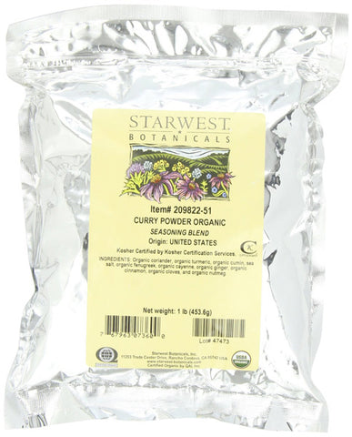 Starwest Botanicals Organic Curry Powder