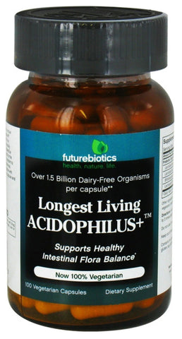 Futurebiotics Longest Living Acidophilus Plus