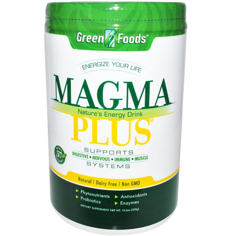 GREEN FOODS - Magma Plus Nature's Energy Drink