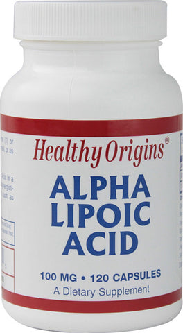 Healthy Origins Alpha Lipoic Acid 100 mg