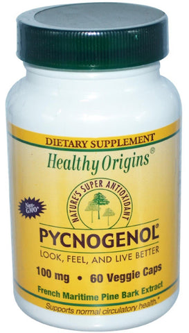 Healthy Origins Pycnogenol 100 mg