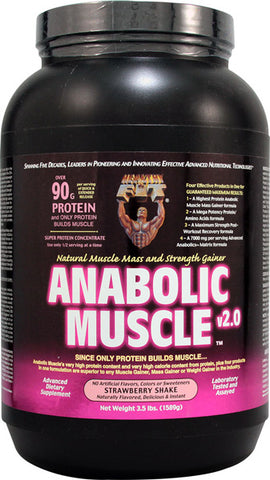 Healthy N Fit Anabolic Muscle Protein Strawberry