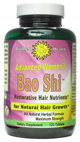 BIOMED HEALTH - Advanced Womens Bao Shi Restorative Hair Nutrients - 120 Capsules