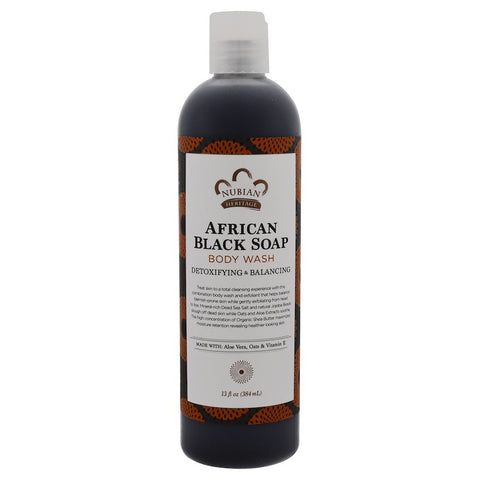 NUBIAN HERITAGE - African Black Soap Body Wash