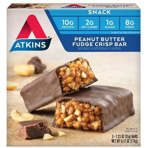 ATKINS - Day Break Peanut Butter Fudge Crisp Bar
