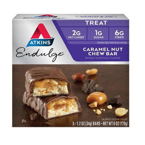 ATKINS - Endulge Caramel Nut Chew Bars