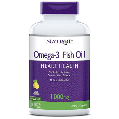 Natrol Omega 3 Fish Oil 1000 mg