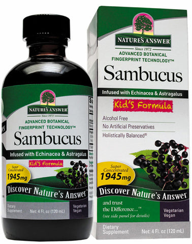 Natures Answer Sambucus Kids