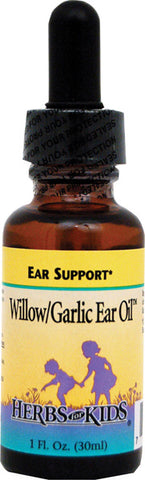 Herbs For Kids WillowGarlic Ear Oil