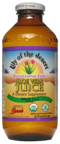Lily of the Desert Preservative Free Aloe Vera Juice Whole Leaf