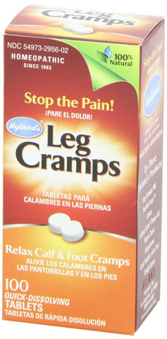 Hylands Homeopathic Leg Cramps with Quinine