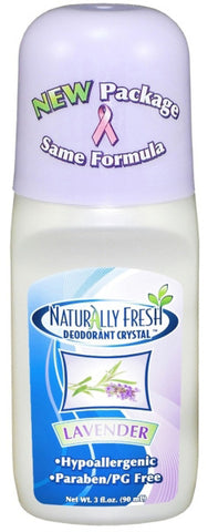 Naturally Fresh Deodorant Crystal Roll On Lavender