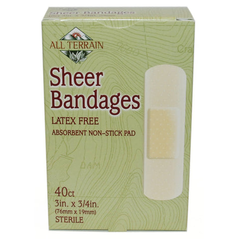 ALL TERRAIN - Sheer Bandages 3/4 in. x 3 in.