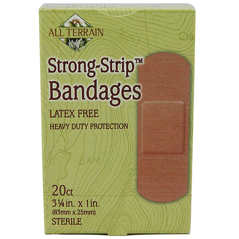 ALL TERRAIN - Heavy Duty Strong Strip Bandages 1 in. x 3.25 in.