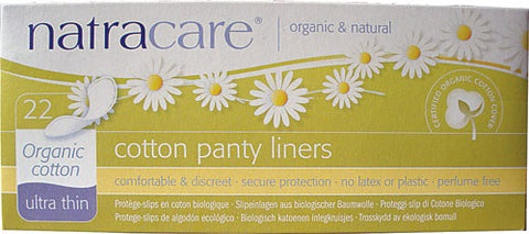 NATRACARE - Natural Panty Liners Ultra Thin