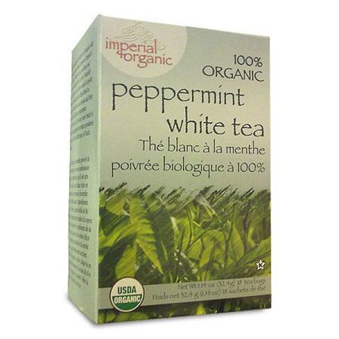 UNCLE LEE'S TEA - Imperial Organic Peppermint White Tea