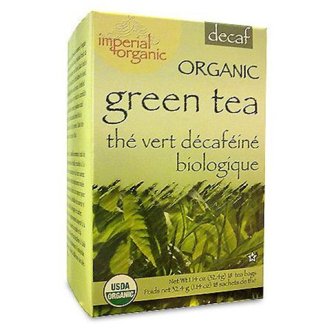 UNCLE LEE'S TEA - Imperial Organic Decaffeinated Green Tea