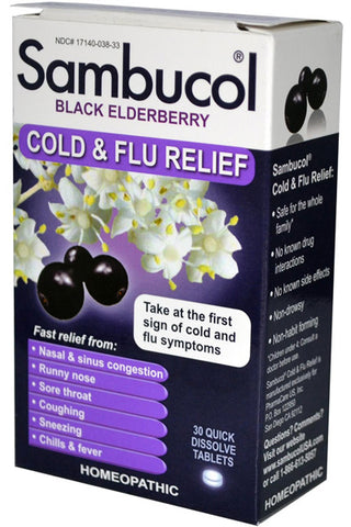 Sambucol Sambucol Black Elderberry Cold Flu