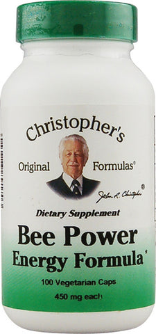 Christophers Original Formulas Bee Power Energy