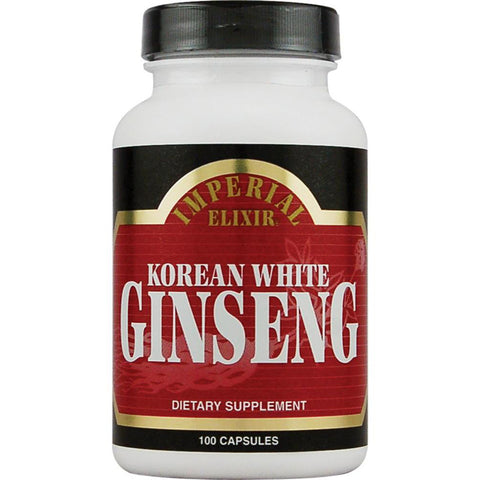 IMPERIAL ELIXIR - Korean White Ginseng