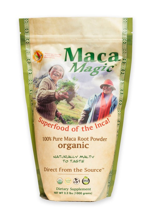 Maca Magic - Organic Raw Maca Powder