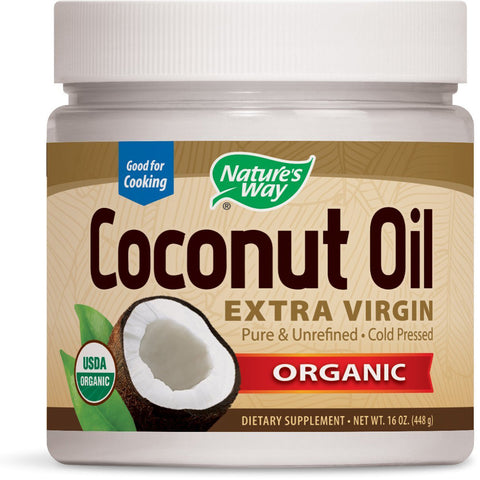 NATURES WAY - Organic Extra Virgin Coconut Oil