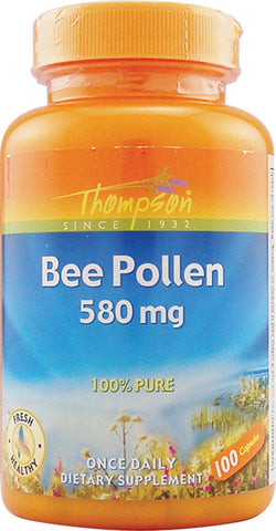 Thompson Nutritional Bee Pollen 580 mg