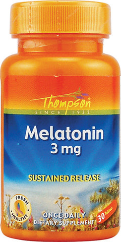 Thompson Nutritional Melatonin Sustained Release 3mg