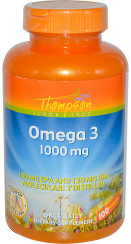 Thompson Nutritional Omega 3 1000 mg