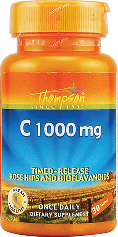 Thompson Nutritional Vitamin C 1000mg Controlled Release