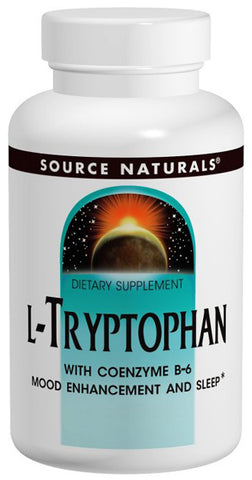 Source Naturals L Tryptophan with Coenzyme B 6