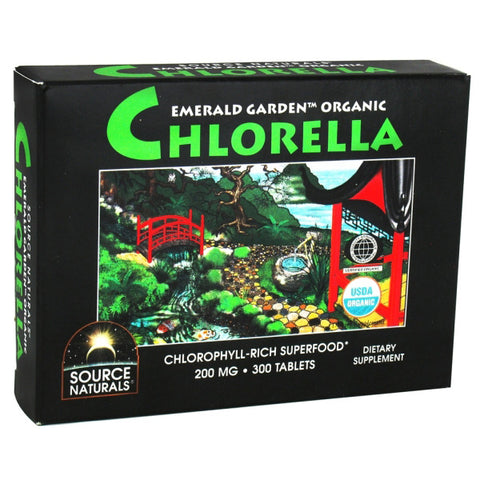 Source Naturals Emerald Garden Organic Chlorella box