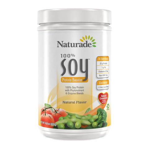 NATURADE - Soy Protein Booster, Natural Flavor