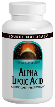 Source Naturals Alpha Lipoic Acid - 120 Capsules (600 mg)
