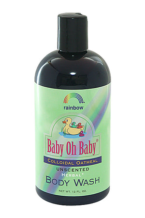 Rainbow Research Baby Oat Body Wash Unscented