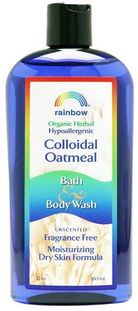 Rainbow Colloidal Oatmeal Body Wash Unscented