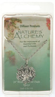 Natures Alchemy Angel Diffuser Pendant Necklaces