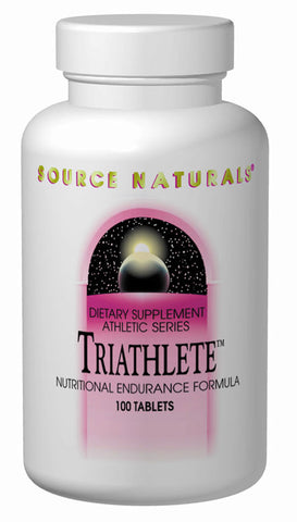 Source Naturals Triathlete - 100 Tablets