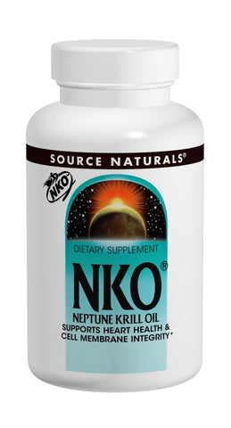 Source Naturals NKO Neptune Krill Oil - 120 Softgels (500 mg)