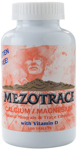Mezotrace Minerals and Trace Element with Vitamin D
